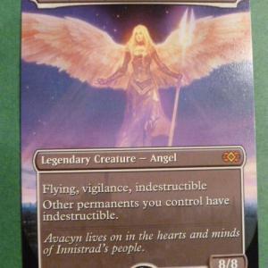 Avacyn, Angel of Hope Box Topper double masters Holo black core
