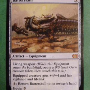 Batterskull Double Masters regular Holo black core