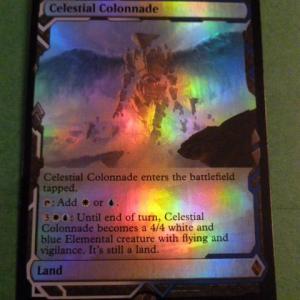 Celestial Colonnade ZNE FOIL Foil black core
