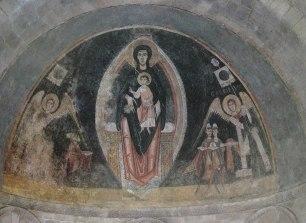 Pintures murals de Santa Maria de Cap d'Aran (Tredós), c.1100, The Cloisters Museum, New York