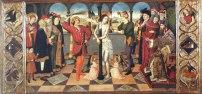 Jaume Huguet, Flagel·lació de Crist, tercer quart s. XV, Musée du Louvre, París