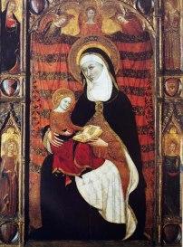 Arnau Bassa i Ramon Destorrents, Retaule de santa Anna, v.1343-1358, Museu das Janelas Verdes, Lisboa