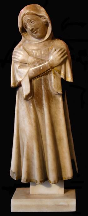 Plorant del panteó reial de Poblet, tecer quart s. XIV, París, Musée du Louvre