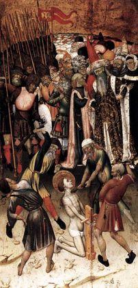 Bernat Martorell i taller, flagel·lació, v.1434-1436, Musée du Louvre, París