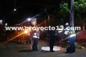 Ejecutan dos sujetos a persona en Cuitláhuac