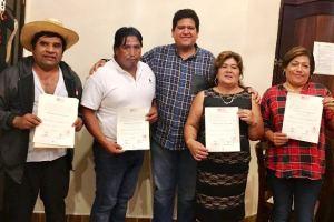 Gerardo Ruiz felicita a nuevos regidores priístas de Coscomatepec