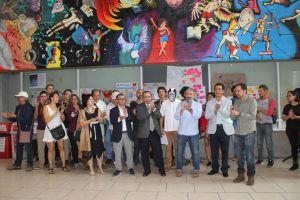 """Inauguran Tercer Encuentro de Arte Público """"Invasión gráfica"""" en UAM Azcapotzalco"""