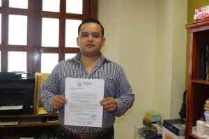 Nuevo oficial del Registro Civil en Huatusco
