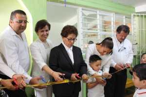 Inauguran salón de clases en el Club Rotario de Huatusco