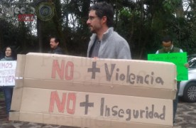 """Protestan contra inseguridad, aseguran que encapuchados entran a casas en """"Los Briones"""""""
