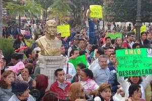 López Obrador, llega a Córdoba en medio de quejas y denuncias