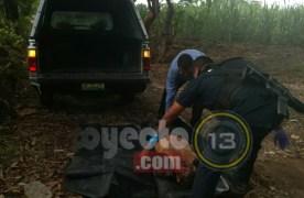 Asesinan a machetazos a campesino en Yanga