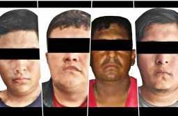 Detienen a cuatro; por presunto fraude bancario y delitos contra la salud