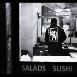 """Sushi enmarcado"" (fragmento) - J.g. Damlow - 161214"