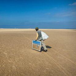 """""""El ladrón de playa"""" - Alfredo Oliva - 230715"""