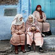 """Tres ancianas en Chaouen"" - MG Abadía - 131115"