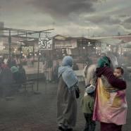 """Plaza Jamaa el Fna, Marrakech, 2011"" - Juan Manuel Castro Prieto - 041015"