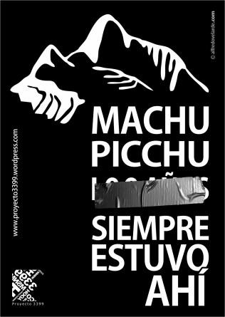 Machu Picchu siempre estuvo ahí   Descargar