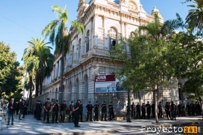 Muy temprano, comenzó el operativo © Ana Isla, proyecto341.com reservados todos los derechos / all rights reserved