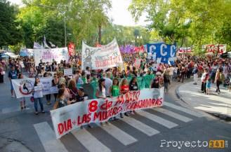 Marcha por el día de la mujer © Ivan Pawluk , proyecto341.com reservados todos los derechos / all rights reserved