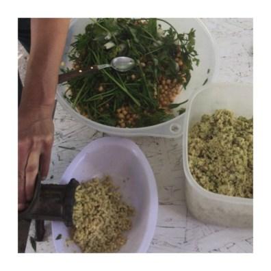 Preparación falafel by Coolinaria