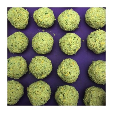 Falafel ready to cook!