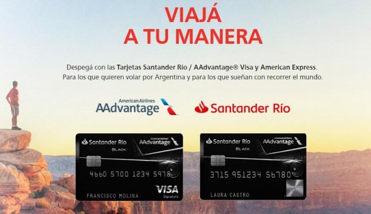 Santander Rio Tarjetas de Credito American Airlines