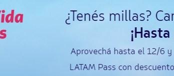 Latam Pass Millas Promocion Junio 2019
