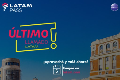 Latam Pass Argentina Ultimo Llamado Julio 2019 a