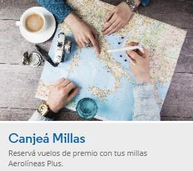 Aprende a canjear millas por pasajes gratis en Aerolineas Argentinas 2