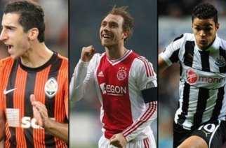Mkhitaryan, Eriksen y Ben Arfa, los favoritos de Rodgers