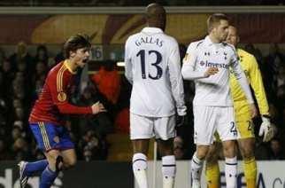 Stocker celebra el primer gol | YAHOO