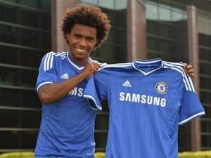 Willian, en su presentación con el Chelsea | THE INDEPENDENT