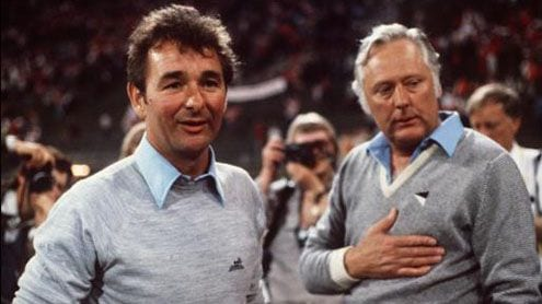 Brian Clough y Peter Taylor