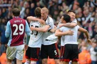 El Fulham cobra vida en Villa Park