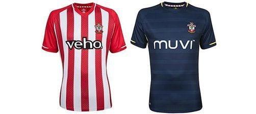 Así vestirá el Southampton en la 2014-2015 | Home & Away kit
