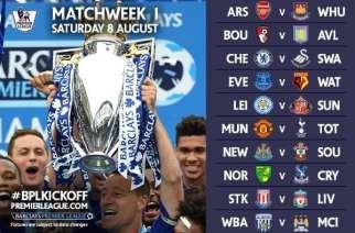 La Premier League 2015-2016 ya tiene calendario