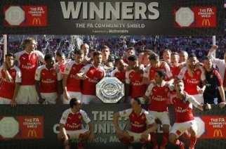 Los 14 títulos de Community Shield del Arsenal