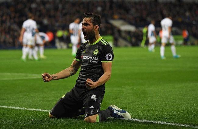 Cesc Chelsea WBA Premier League Campeones