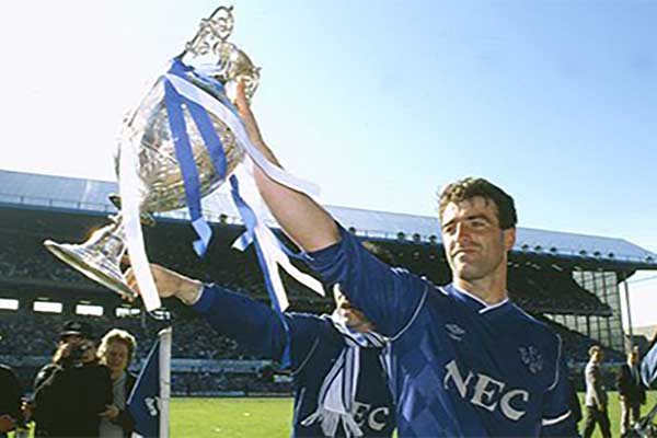 Everton 1986-87 Kevin Ratcliffe