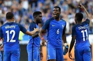 Mbappé y Dembélé fueron demasiado para Inglaterra