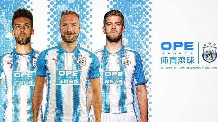 camiseta huddersfield 2017-18
