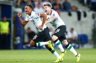 El Liverpool golpea primero en la previa de la UCL