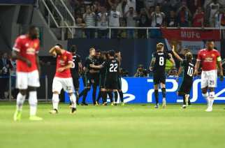 El Manchester United no puede con el Real Madrid