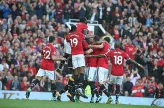 El Manchester United fue demasiado para el Everton