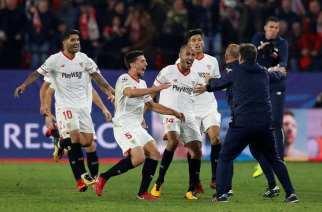 'Estambulazo' del Sevilla al Liverpool