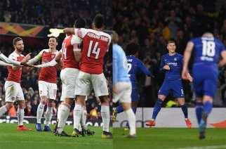 Arsenal y Chelsea pasan a los Octavos de la Europa League