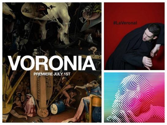 VORONIA_collage cartel premiere EL GREC 2015 LA VERONAL