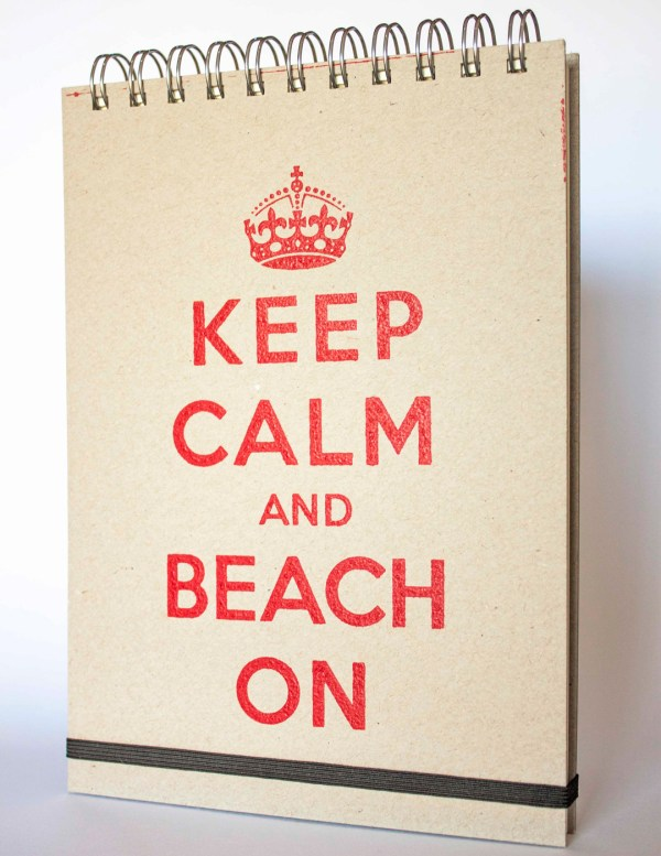 cuaderno keep calm