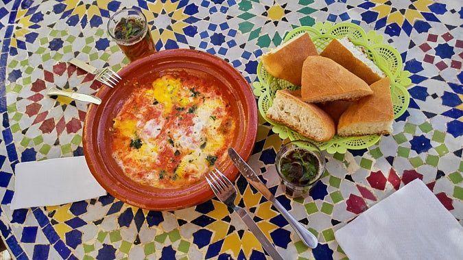 Marruecos-comida